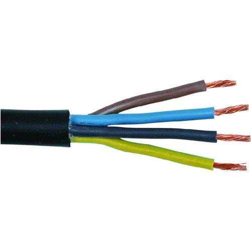 Гумен /каучуков/ кабел ШКПЛ 4х4 (H05RR-F) От Цветив ЕООД